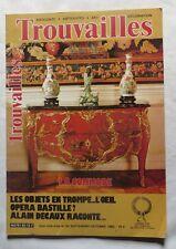 Trouvailles – 1983 – Antiquités, arts, brocantes