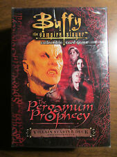 Buffy The Vampire Slayer The Pergamun Prophecy Collectible Card Game