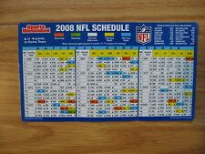 Sports Illustrated NFL SCHEDULE 2008