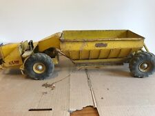 Model Toy Doepke Yellow Wooldridge Belly Dump Vintage Earth Mover ORIG BOX