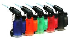 20 Packs 45 Degree Angle Jet Flame Butane Torch wholesale Refillable Windproof