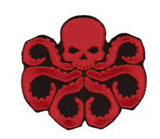 Iron on patch DIE CUT Red hydra Captain America Cosplay Costume Morale