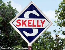 Vintage Skelly Gas Station Sign in East Texas - Giclee Photo Print