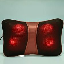 Deep Relax Massage Pillow Electric Massager Heat Neck / Back / Shoulder Cushion