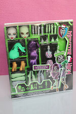 Monster High, create a monster, serpiente y munie, 2 muñecas, Dolls, Snake