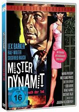 Mister Dynamit - Morgen küsst euch der Tod DVD Thriller Lex Barker Pidax Neu Ovp