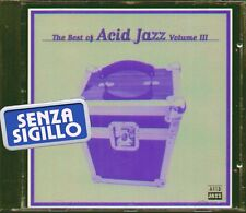 THE BEST OF ACID JAZZ VOL.III (3)  CD NUOVO 1996 PERFETTO