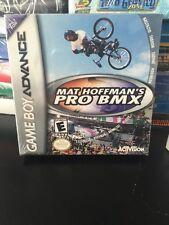 GBA Mat Hoffman's Pro Bmx Game Boy Advance Video Game New