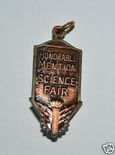 WOW Vintage Honorable Mention Science Farm Necklace Charm RARE