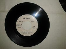"Joe South ‎/ Games People Play–Disco Vinile 45 Giri 7"" Edizione Promo Juke Box"