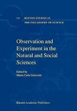Boston Studies in the Philosophy and History of Science Ser.: Observation and...