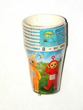 NEW VINTAGE ~TELETUBBIES ~  8-PAPER CUPS HOT-COLD 9oz.  PARTY SUPPLIES