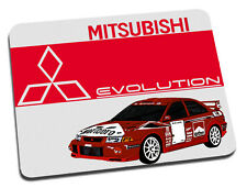 Mitsubishi Evo Rally Car Mouse Mat