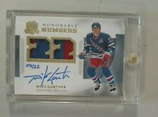 2013-14 The Cup Hockey Mike Gartner Honorable Numbers Patch Auto #04/22