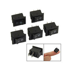 5pcs On/Off 12V Waterproof Rectangle Rocker Switch w/ Cover Car Dashboard Boat