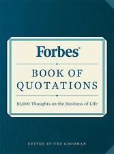 Forbes Book of Quotations : 10,000 Thoughts on the Business of Life (2016,...