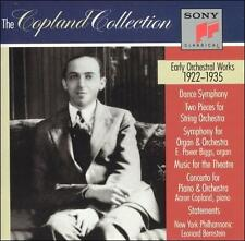 Copland: Early Orchestral Works, 1922-1935 (CD, Jul-1991, 2 Discs, Sony...