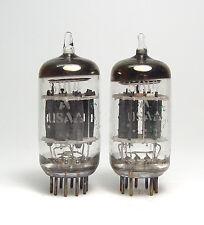 2x GE 5814 A / 5814A  / E82CC Audio-Röhre, MIL Spec ECC82 Preamplifier Tubes