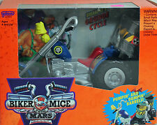Biker Mice Greasepit's Grunge Cycle 1993, NRFB Mint w/LN box - 25490