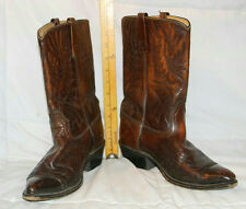 VINTAGE USA ACME MOTORCYCLE BIKER COWBOY WESTERN LEATHER BOOTS MENS 9.5 D