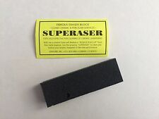 Idahone Super Eraser Ceramic cleaner for knife sharpening rods  2 Pack