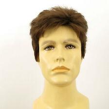 Perruque homme 100% cheveux naturel châtain clair ref SEBASTIEN 8