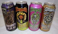 Narragansett Lovecraft Beer series lot of 4 cans Innsmouth Reanimator White Ship