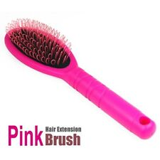 Pink Girl Hair Extension Hairbrush Brush Loop for Silicone Micro Ring Fusion N3