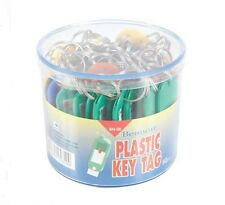 50 Pcs Plastic Key Tags Text Label Office Supply  Home Organize Free Shipping