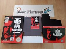 NINTENDO NES THE HUNT FOR RED OCTOBER COMPLETO PAL ESPAÑA