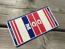 VINTAGE BIKE BICYCLE CCM SEAT POST STICKER DECAL CCM MUSTANG MARAUDER ELIMINATOR