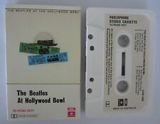 THE BEATLES AT HOLLYWOOD BOWL AUSTRALIAN RELEASE CASSETTE TAPE