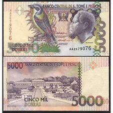 SAINT THOMAS & PRINCE  5000 Dobras 1996 UNC P 65 a