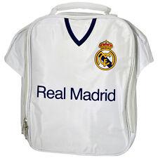 Real Madrid Fc Kit Camisa forma Aislado Escuela Bolso de Almuerzo Caja Nuevo Regalo Navidad