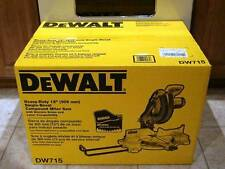"NEW DEWALT DW715 12"" ADJUSTABLE COMPOUND MITER SAW 15AMP SALE NEW IN BOX SALE"