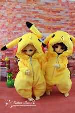 Lovely Yellow Pajamas Animal Outfit for BJD Doll 1/6 YOSD Super Dollfie Clothes