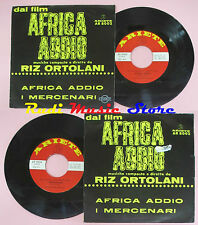 LP 45 7'' RIZ ORTOLANI Africa addio I mercenari 1966 italy ARIETE cd mc dvd