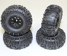 HPI Racing 8-Split Spoke Wheels w/ Mounted Rover Sticky Tires (4) Crawler King