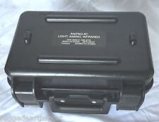 Small Military Hard Camera IR AN/PAQ-4C Optic Gun Pistol Transport Case 10x6x4