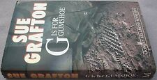 SUE GRAFTON G Is For Gumshoe 1990 UK HB DW FIRST 1/1