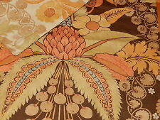 Nwt Pottery Barn CASSANDRA Reversible Cotton Duvet Cover Full/Queen ~Multi/Brown