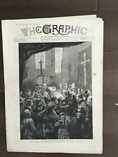 """THE GRAPHIC"" (A Beautifully Illustrated British Weekly Newspaper)-Feb.16, 1889"