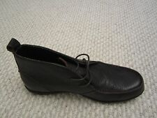 NEW - Lands End Mens Leather Hommes Boot SIZE 8D
