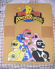 SUPER RARE 1994 Mighty Morphin Power Rangers 17x22 Cork Wall Board - RARE Saban