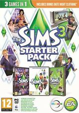Los Sims 3 Starter Pack (PC/Mac, región libre) Origin clave de descarga