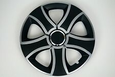 "Set di 4 x 15 ""AUTO COPRICERCHI CERCHIONI HUB accoppiamenti VW Touran, Caddy #T"