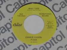 """Charlie Louvin-what then - 7"""" 45"""
