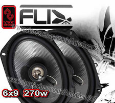 "FLI Underground FU69 6x9"" 2-way 270w Car Van Door Shelf Coaxial Speakers - Pair"