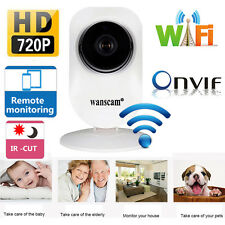 Wireless WiFi HD720P ONVIF Indoor Outdoor IR Cut Security IP Camera Night Vision