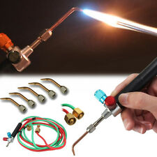 Top Jewelry Gas Torch Welding Soldering Little Torch Full with Hoses & 5 tips